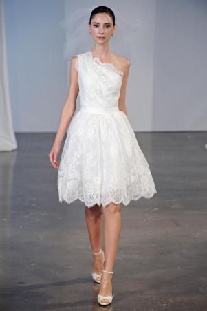 Подборка свадебных платьев от Marchesa - модная свадьба сезона весна 2013 - 15