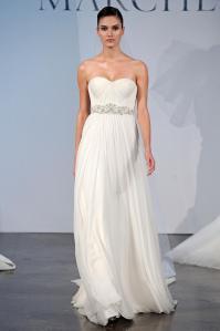 Подборка свадебных платьев от Marchesa - модная свадьба сезона весна 2013 - 4