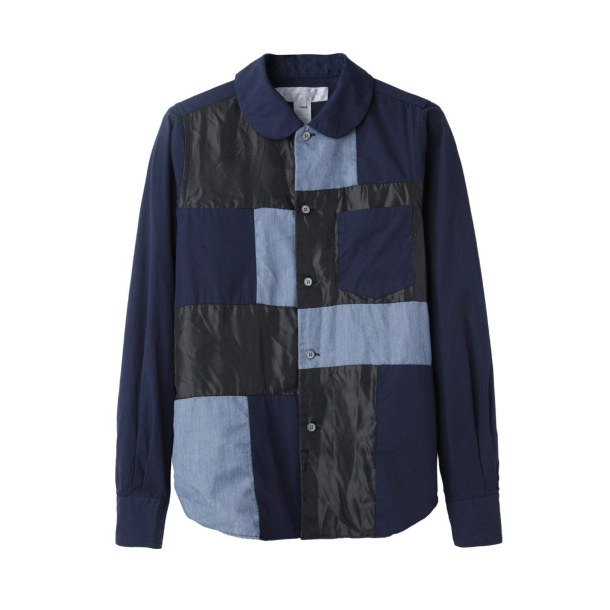 Весенняя тенденция 2013 лоскутная одежда и обувь - Рубашка из лоскутов 2