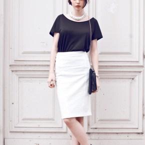 3 - Чёрный верх белый низ - Классическая мода которая не стареет - Черный и белый