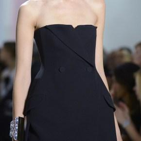 Тенденции летней женской одежды 2013: модный чёрный цвет от Кристиана Диора