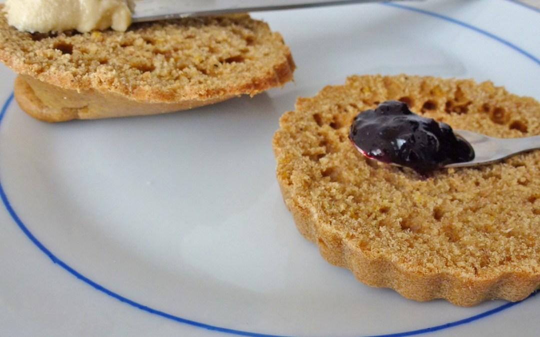 Petit pain g teau tartiner pour le petit d jeuner vegan l ger kiwiforme - Gateau pour le petit dejeuner ...