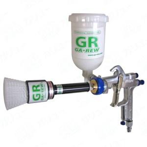 コップ一杯の水で車いすを丸洗い!介護用品向け洗浄器「ソニック・クリーナー」