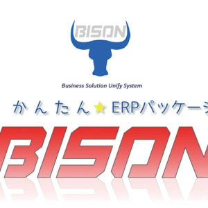 業務効率化や経営全体の最適化を実現するかんたん★ERPパッケージ「BISON」