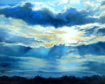 Breaking Dawn, Landscape by Kerry Jo Montoya