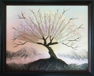 KJs Art Studio | Life Renewed - Original Textured Mixed Medium Painting by KJ Burk