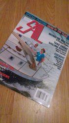 Radar arch by Klacko Marine featured in Sail Magazine
