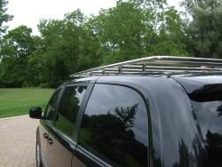 Stainless van roof rack