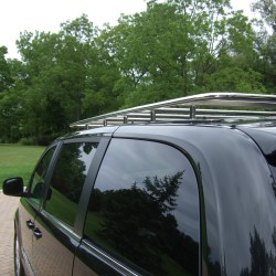 Stainless van roof rack