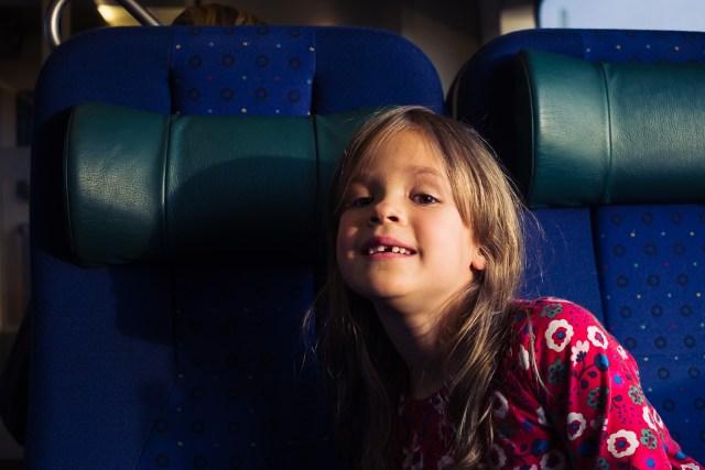 En dag på tåget till Karlskrona