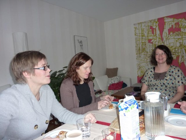 Emma, Charlotte och Susanne