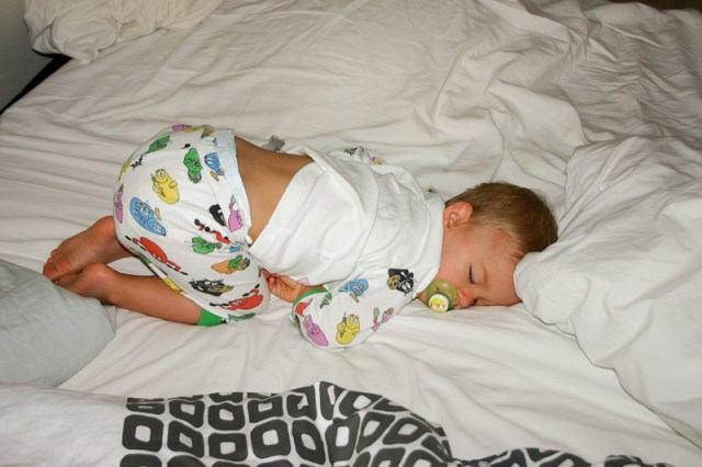 Smilla sover sött