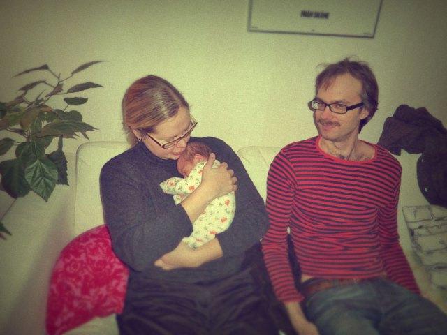 Johanna & Love på besök