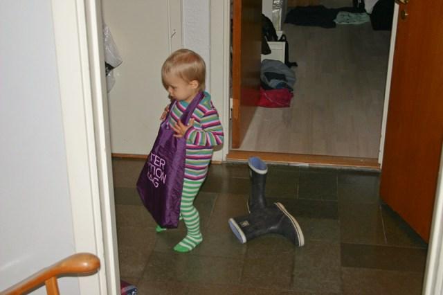 Kvinnor, skor och väskor