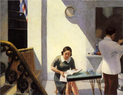 Edward Hopper - The Barber Shop (1931)