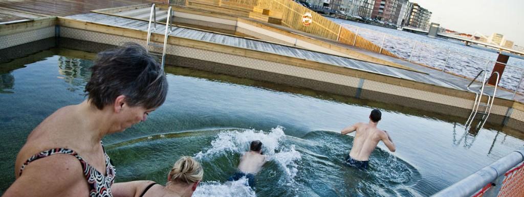 Zeezwembad in Kopenhagen
