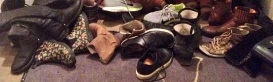 yogastudio schoenen