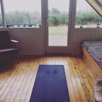Mijn yogazaal.
