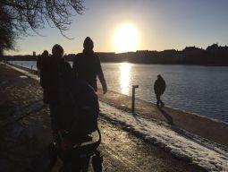 Onze BS bij de Kopenhaagse meertjes