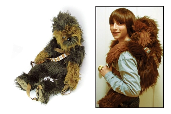 Rucksack : Get that monkey…äh..Chewbacca of my back!