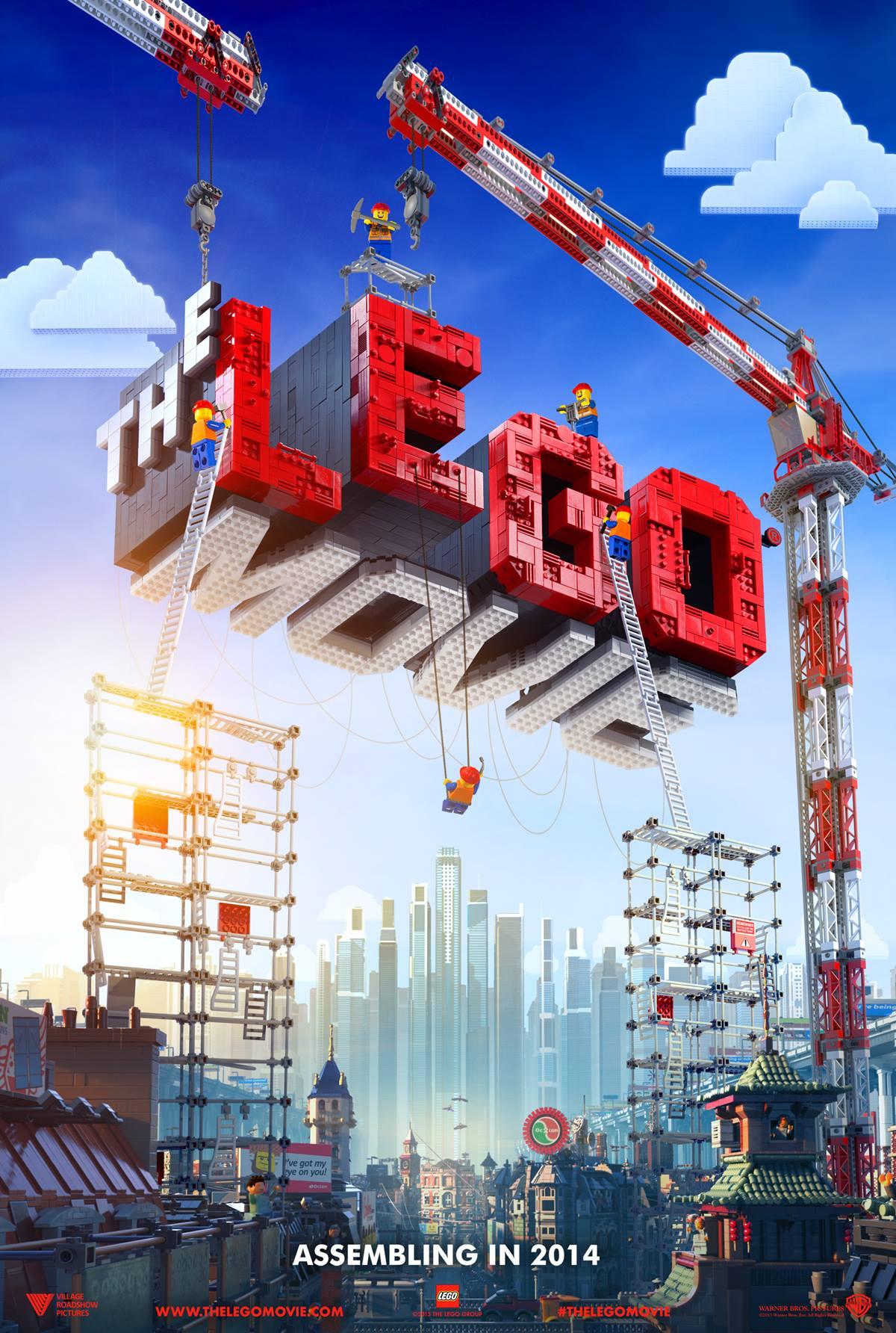 The LEGO Movie : 2014 kommen die Helden auf die Leinwand!