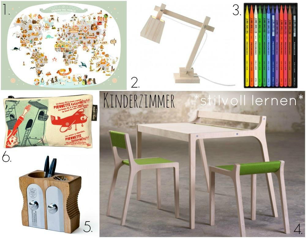 Kinderzimmer : stilvoll lernen!