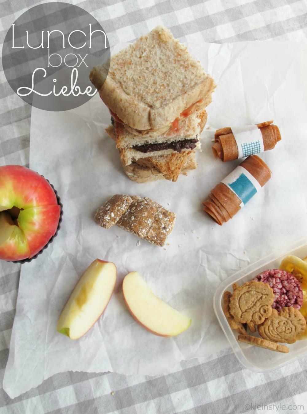 Blogger Aktion Pausenbrot : Lunchbox Liebe