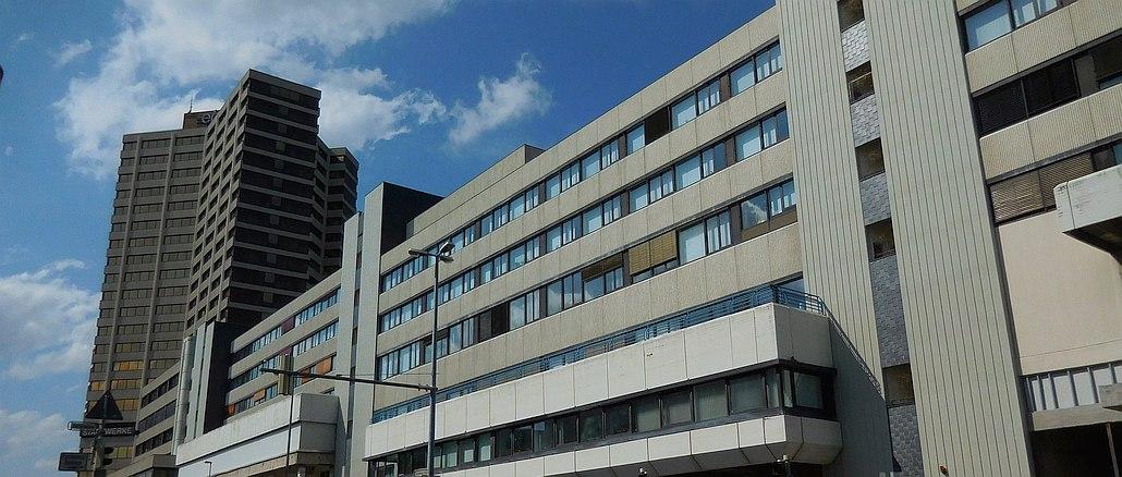 Ihmezentrum 2015 Fassade Blumenauer Straße