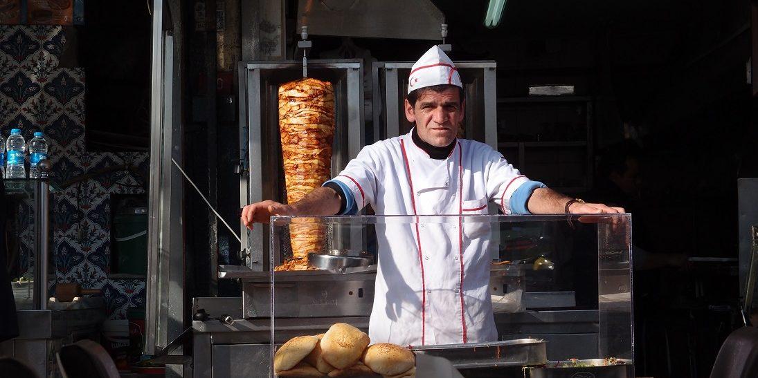 Gyros, kebab, falafel…