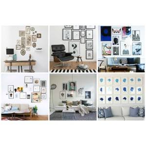 Idyllic Decide On Layout Six Steps To Create Gallery Wall King Mcgaw Gallery Wall Layout Ideas Rachael Ray Wall Gallery Layouts