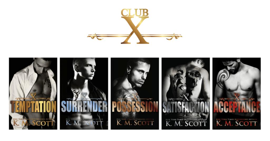 club-x-complete-series-books
