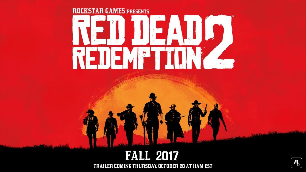 Watch the Red Dead Redemption 2 debut trailer here at 8am PT! [Update: IT'S LIVE!]