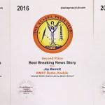 2016 Alaska Press Club awards won by KMXT News