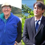 Duncan Fields (I), left, and Brent Watkins (R), are seeking election to Alaska House Seat 32.