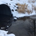 Culvert at Lake Orbin. Kayla Desroches/KMXT