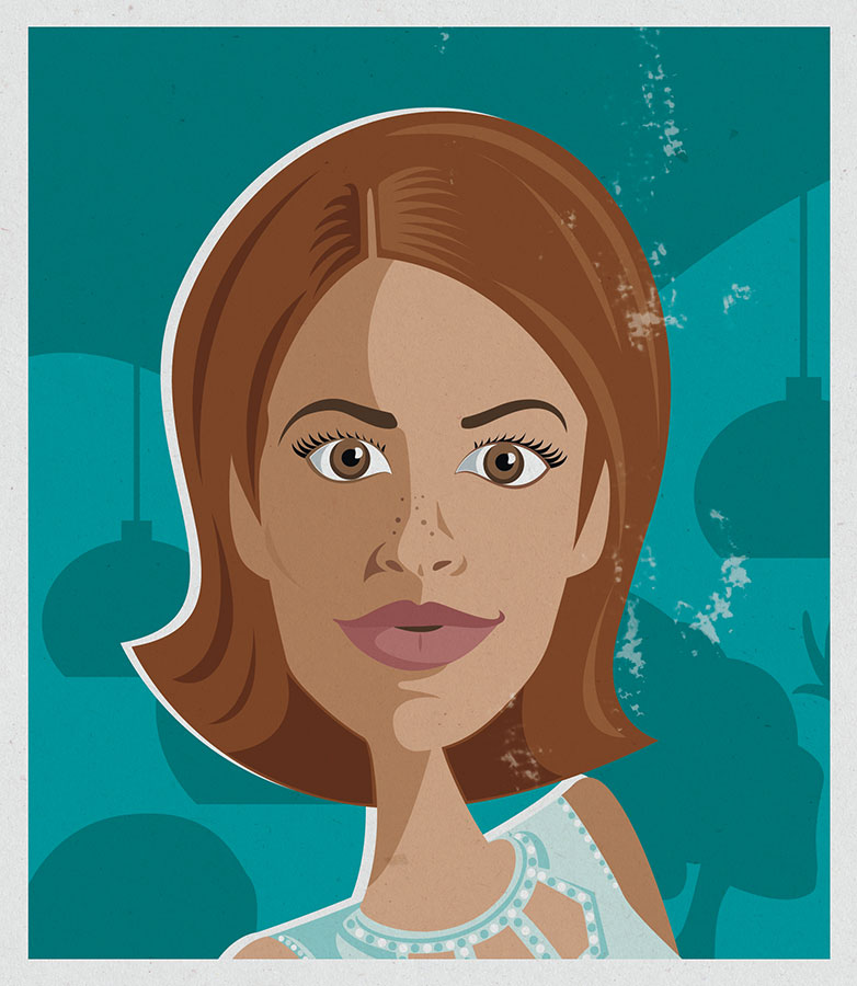 Vector-illustration-caricature