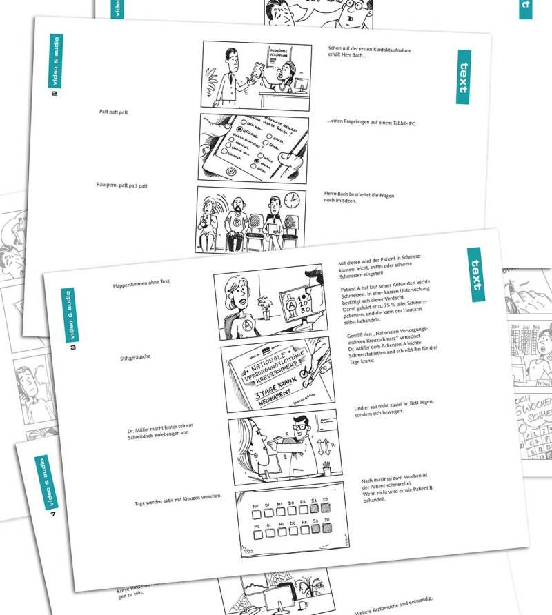 Storyboard Illustrator Muenchen