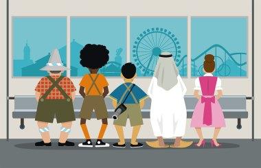 Illustration München Oktoberfest
