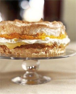 Lemon Meringue Cake: knittedbliss.com