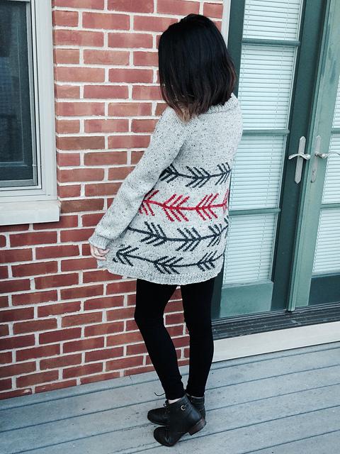 Modification Monday: Wyeth Cardigan  knittedbliss.com