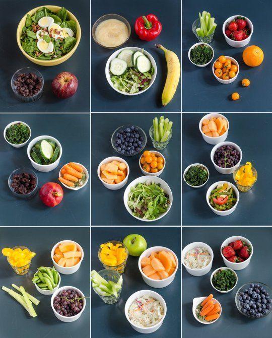 Pin Ups: Daily fruit and Veggies  knittedbliss.com