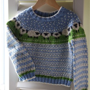 Modification Monday: BaaBle pullover  knittedbliss.com