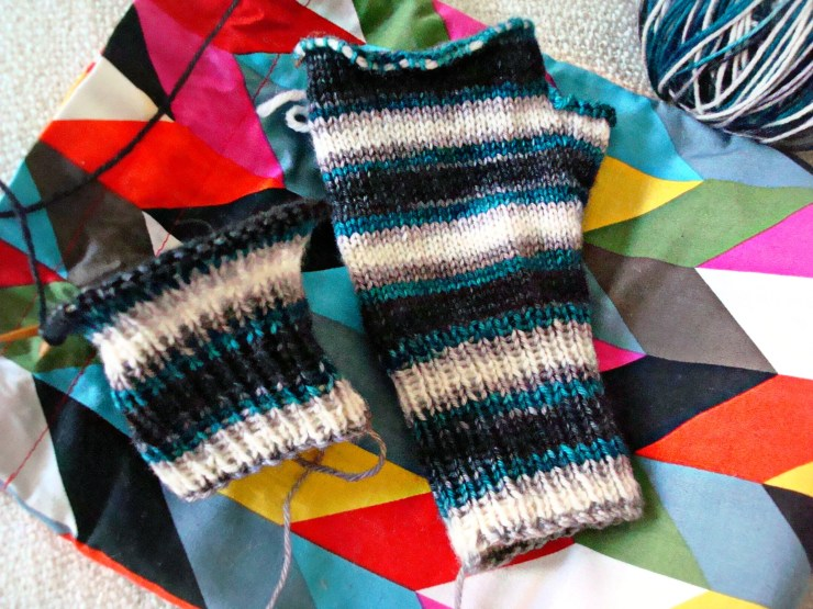 Knit in Progress: Biscotte Yarns | knittedbliss.com