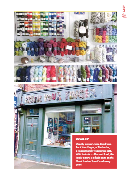 Review: London Craft Guide | knittedbliss.com