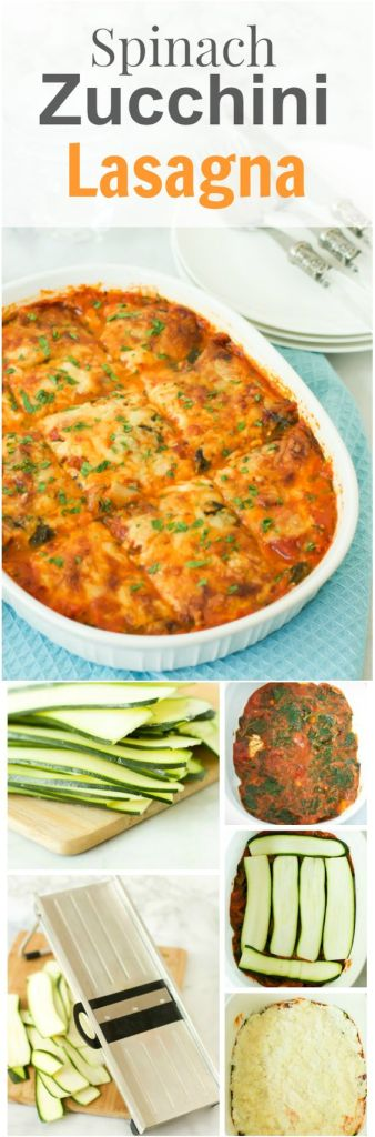 Pin Ups and Link Love: Spinach and Zucchini Lasagna | knittedbliss.com