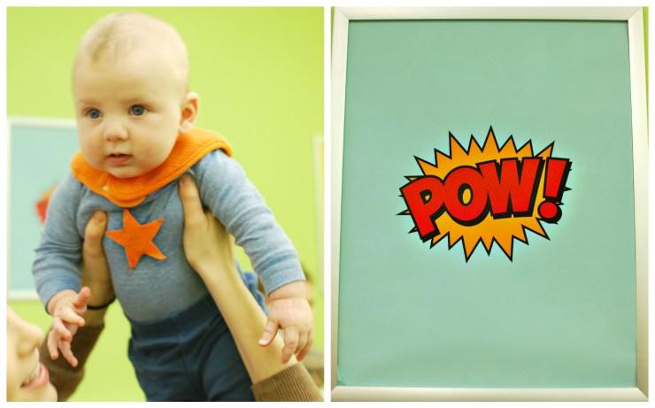 Michaels Superhero Craft Party | knittedbliss.com