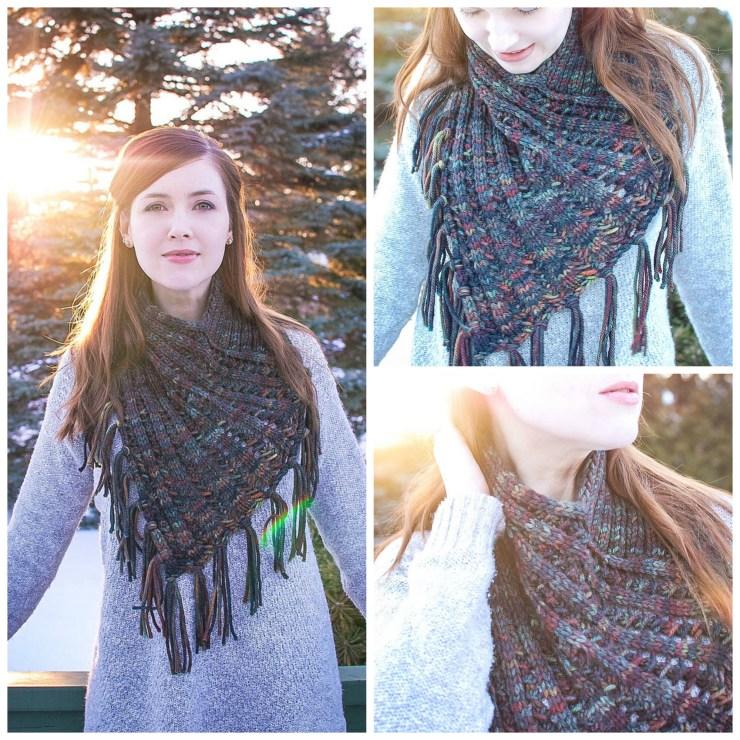 Arika Cowl | knittedbliss.com