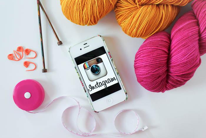Instagram #craftyblisschallenge Spring 2016| knittedbliss.com