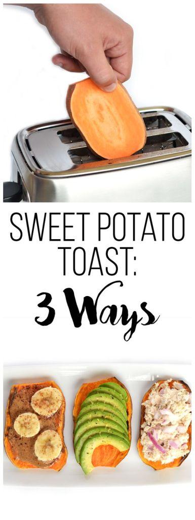 Pin Ups and Link Love: Sweet Potato Toast   knittedbliss.com