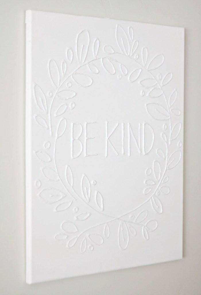 Pin Ups and Link Love: Canvas Wall Art | knittedbliss.com